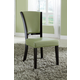 Coaster 1036 Upholstered Side Chair in Green (Set of 2) 103682GRN