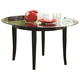 Coaster 1036 Round Dining Table w/ Glass Top