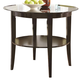Coaster 1036 Round Glass Top Pub Table