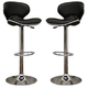 Coaster Swivel Bar Stool in Black 120359 (Set of 2)