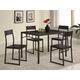 Coaster 5pc Dining Set in Cappuccino 120569