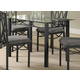 Coaster Dining Table in Black 120781