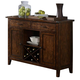 Liberty Furniture Cabin Fever Server in Bistro Brown Finish 121-SR5238