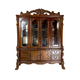Acme Dresden Hutch and Buffet in Brown Cherry Oak 12155