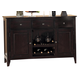 Homelegance Crown Point Server in Merlot 1372-40