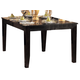 Homelegance Crown Point Dining Table in Merlot 1372-78