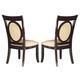 Somerton Signature Upholstered Side Chair in Dark merlot 138-33 (Set of 2)