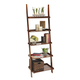 Liberty Furniture Farmhouse Leaning Bookcase in Weathered Oak Finish 139-BK202