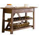 Liberty Furniture Farmhouse Server in Weathered Oak Finish 139-SR5536