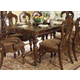 Homelegance Prenzo Dining Table in Warm Brown 1390-102
