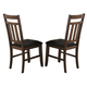 Homelegance Kirtland Side Chair in Warm Oak (set of 2) 1399S