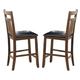 Homelegance Kirtland Counter Height Chair in Warm Oak (Set of 2) 1399-24