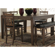 Homelegance Kirtland Counter Height Table in Warm Oak 1399-36