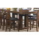 Homelegance Kirtland Counter Height Table in Warm Oak 1399-36XL