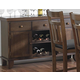 Homelegance Kirtland Server in Warm Oak 1399-40