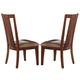 Somerton Runway Side Chair in Warm Chestnut 140-36 (Set of 2)