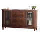 Somerton Runway Dining Server in Warm Chestnut 140-73