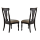 Homelegance Inglewood Side Chair in Espresso (set of 2) 1402S
