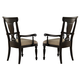 Homelegance Inglewood Arm Chair in Espresso (set of 2) 1402A