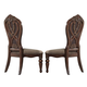 Homelegance Golden Eagle Side Chair in Antique Caramel (set of 2) 1437S
