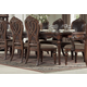 Homelegance Golden Eagle Dining Table in Antique Caramel 1437-120