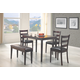 Coaster 5pc Dining Set in Cappuccino 150232