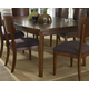 Somerton Perspective Leg Dining Table in Chestnut Brown 152-64