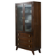 Somerton Perspective Curio China in Chestnut Brown 152-71