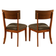 Somerton Perspective Side Chair in Chestnut Brown 152A36 (Set of 2)