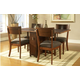 Somerton Perspective 5pc Gate Leg Table Set in Chestnut Brown 152DR