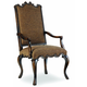 Hooker Furniture Sanctuary Canterbury Arm Chair in Ebony (Set of 2) 200-351257 SALE Ends Oct 17