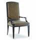 Hooker Furniture Sanctuary Mirage Arm Chair in Ebony (Set of 2) 3005-75400 SALE Ends Oct 23