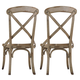 Hooker Furniture Wakefield X-Back Side Chair (Set of 2) 5004-75310 SALE Ends Jul 14