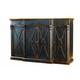 Hooker Furniture Sanctuary 4 Door 3 Drawer Credenza Ebony/Drift 3005-85002 SALE Ends Oct 21