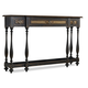 Hooker Furniture Sanctuary 3 Drawer Thin Console in Ebony