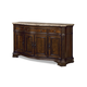 Universal Furniture Villa Cortina Storage Credenza with Marble Top 409678-C