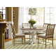 Universal Furniture Great Rooms 5PC Garden Breakfast Set w/Terrace Gray Side Chairs CODE:UNIV20 for 20% Off