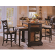 Hooker Furniture Double X Back Counter Stool w/Cushion 864-75-450  SALE Ends Oct 21