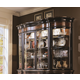 Hooker Furniture Preston Ridge Hutch with Curio Ends 864-75-907  SALE Ends Oct 15