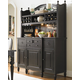 Universal Furniture Summer Hill China with Hutch in Midnight 988670C