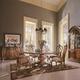 Universal Furniture Villa Cortina  Pedestal Round Dining Set