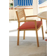 Acme Coastal Outdoor Wooden Dining Arm Chairs 16102 (Set of 4)