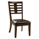 Standard Furniture Bella Side Chair (Set of 2) in Walnut 16844
