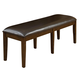 Standard Furniture Bella Bench in Walnut 16849