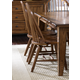 Liberty Furniture Treasures Bow Back Side Chair in Rustic Oak Finish 17-C1050 (Set of 2)