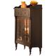 Liberty Furniture Treasures Display Cabinet in Rustic Oak Finish 17-CH4866K