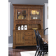 Liberty Furniture Treasures Complete China in Rustic Oak Finish
