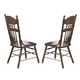 Liberty Furniture Old World Embossed Back Side Chair in Medium Oak Finish 18-C563S (Set of 2)