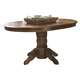 Liberty Furniture Old World Pedestal Table in Medium Oak Finish 18-T560