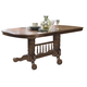 Liberty Furniture Old World Double Pedestal Table in Medium Oak Finish 18-T570